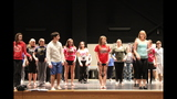 South Park Senior High School rehearses 'Li'l Abner' - (18/25)