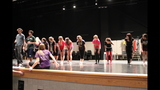 South Park Senior High School rehearses 'Li'l Abner' - (2/25)