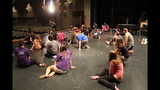 South Park Senior High School rehearses 'Li'l Abner' - (15/25)
