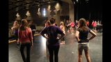 South Park Senior High School rehearses 'Li'l Abner' - (4/25)