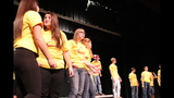 Ambridge High School rehearses 'Seussical' - (10/25)