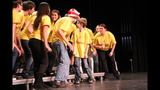 Ambridge High School rehearses 'Seussical' - (1/25)