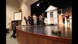 Chartiers Valley High School rehearses 'The Wiz' - (1/25)