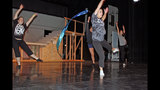 Chartiers Valley High School rehearses 'The Wiz' - (15/25)