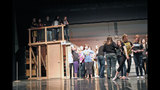 Chartiers Valley High School rehearses 'The Wiz' - (22/25)