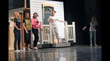 Chartiers Valley High School rehearses 'The Wiz' - (24/25)