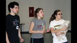 Vincentian Academy rehearses 'The Wizard of Oz' - (1/25)