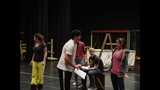 Baldwin High School rehearses 'Curtains' - (1/2)