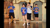 Hampton High School rehearses 'Damn Yankees' - (20/25)
