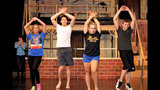 Hampton High School rehearses 'Damn Yankees' - (12/25)