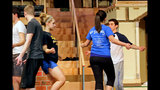 Hampton High School rehearses 'Damn Yankees' - (11/25)