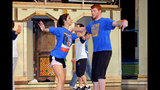 Hampton High School rehearses 'Damn Yankees' - (2/25)