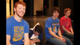 Hampton High School rehearses 'Damn Yankees' - (10/25)