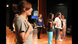 West Mifflin High School rehearses 'Smile' - (12/25)