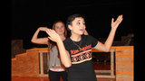West Mifflin High School rehearses 'Smile' - (4/25)