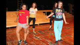 West Mifflin High School rehearses 'Smile' - (1/25)