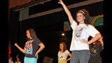 West Mifflin High School rehearses 'Smile' - (3/25)