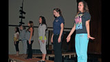 West Mifflin High School rehearses 'Smile' - (22/25)