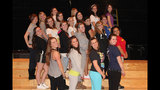 West Mifflin High School rehearses 'Smile' - (23/25)