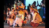 Seneca Valley High School rehearses 'Beauty… - (20/25)