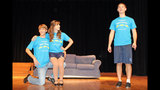 Hopewell High School rehearses 'Singin' in the Rain' - (19/25)