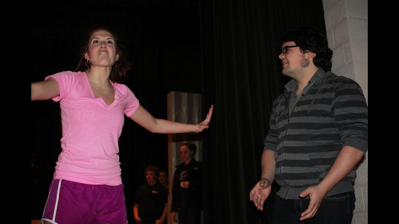 Pine Richland High School Rehearses The Wedding Singer