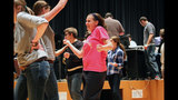 Pine-Richland High School rehearses 'The… - (12/25)