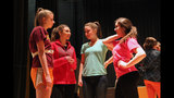 Pine-Richland High School rehearses 'The… - (19/25)