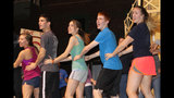 Woodland Hills High School rehearses 'Curtains' - (6/25)