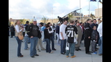 Game 1 of Pens vs. Flyers series: Fans, game - (17/25)