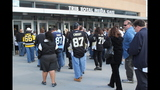 Game 1 of Pens vs. Flyers series: Fans, game - (1/25)