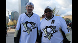 Game 1 of Pens vs. Flyers series: Fans, game - (19/25)