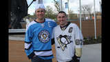 Game 1 of Pens vs. Flyers series: Fans, game - (11/25)