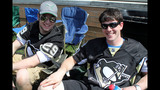 Game 3 of Pens vs. Flyers series: Fans watch… - (5/25)