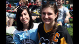 Game 3 of Pens vs. Flyers series: Fans watch… - (1/25)
