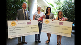 Miles Against Melanoma PA check presentation_2475777