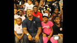 LaMarr Woodley hosts Back to School Kickoff event - (4/19)