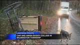 Woman hospitalized after car, Amish buggy collide in Lawrence Co._2826144