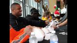 James Harrison hosts Santa brunch - (12/25)