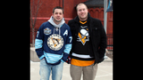 Penguins fans attend opening game at Consol… - (4/25)