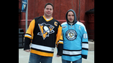 Penguins fans attend opening game at Consol… - (6/25)