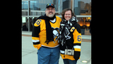 Penguins fans attend opening game at Consol… - (7/25)