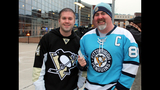 Penguins fans attend opening game at Consol… - (10/25)