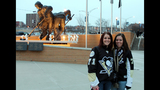 Penguins fans attend opening game at Consol… - (3/25)