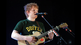 Ed Sheeran performs at Stage AE - (12/25)