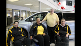 Paralyzed veterans receive mobility van from… - (15/25)