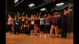Carlynton High School rehearses '9 to 5' - (1/25)
