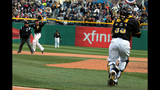Pirates play Cubs in 2013 home opener - (8/25)