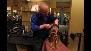 Philip Pelusi Shows High School Girls 2013 Prom Hair Makeup Trends