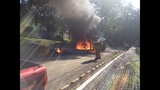 Photos: Landscaping truck catches fire - (3/3)